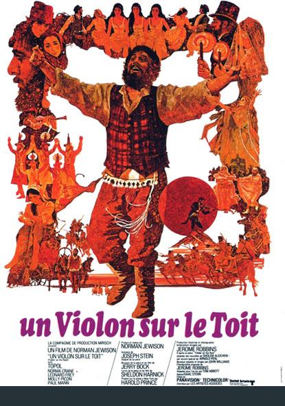 Un Violon Sur Le Toit Norman Jewison 1971 Encyclo Cin 233