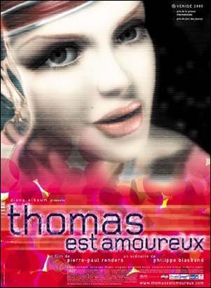 Thomas est amoureux affiche